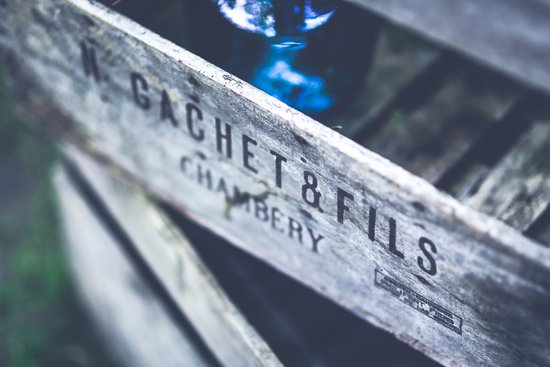 ワイン木箱写真